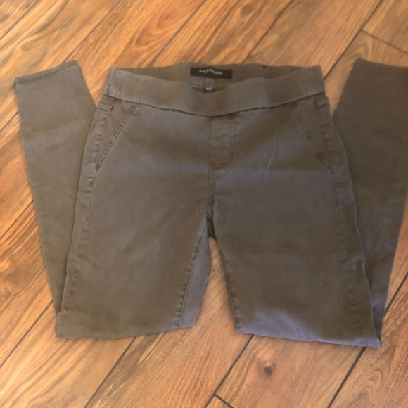 Liverpool Jeans Company Denim - 💙 Olive Green Liverpool Pants